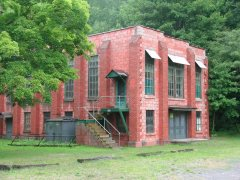 Exterior Shot of the Lonaconing Silk Mill; Allegany County