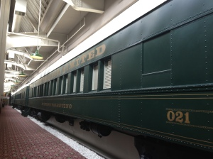 Conference hotel rooms in train