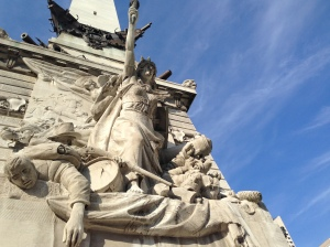 Soldiers and Sailors' monument detail 1